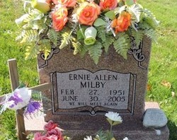 MILBY, ERNIE ALLEN - Green County, Kentucky | ERNIE ALLEN MILBY - Kentucky Gravestone Photos