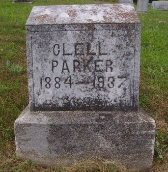 PARKER, CLELL - Green County, Kentucky | CLELL PARKER - Kentucky Gravestone Photos