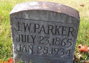 PARKER, JOHN WILLIAM - Green County, Kentucky | JOHN WILLIAM PARKER - Kentucky Gravestone Photos