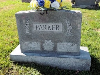 PARKER, MAY - Green County, Kentucky | MAY PARKER - Kentucky Gravestone Photos