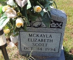 SCOTT, MCKAYLA ELIZABETH - Green County, Kentucky | MCKAYLA ELIZABETH SCOTT - Kentucky Gravestone Photos