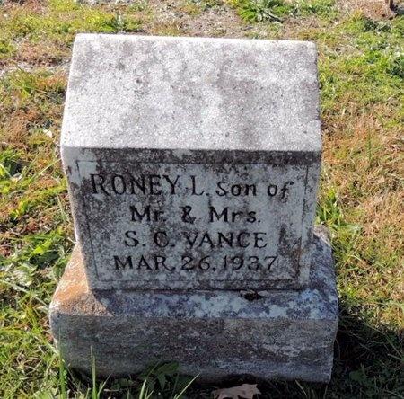 VANCE, RONEY L - Green County, Kentucky | RONEY L VANCE - Kentucky Gravestone Photos