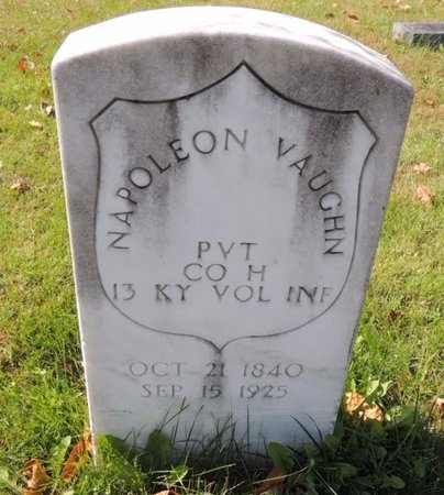 VAUGHN (VETERAN UNION), NAPOLEON TAYLOR - Green County, Kentucky | NAPOLEON TAYLOR VAUGHN (VETERAN UNION) - Kentucky Gravestone Photos