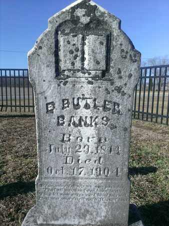 BANKS, E. BUTLER - Hancock County, Kentucky | E. BUTLER BANKS - Kentucky Gravestone Photos