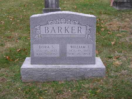 BARKER, WILLIAM T - Hancock County, Kentucky | WILLIAM T BARKER - Kentucky Gravestone Photos