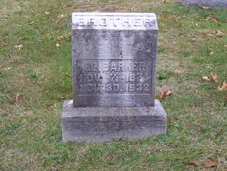 BARKER, ED - Hancock County, Kentucky   ED BARKER - Kentucky Gravestone Photos