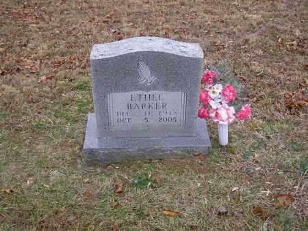 BARKER, ETHEL - Hancock County, Kentucky | ETHEL BARKER - Kentucky Gravestone Photos