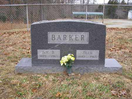 BARKER, ZILLIE - Hancock County, Kentucky | ZILLIE BARKER - Kentucky Gravestone Photos