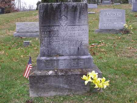 BARKER, MISSOURIA A - Hancock County, Kentucky   MISSOURIA A BARKER - Kentucky Gravestone Photos