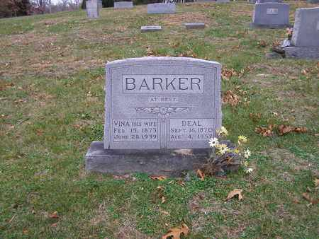 BARKER, VINA - Hancock County, Kentucky | VINA BARKER - Kentucky Gravestone Photos