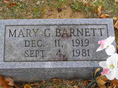 BARNETT, MARY G - Hancock County, Kentucky | MARY G BARNETT - Kentucky Gravestone Photos