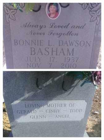 DAWSON BASHAM, BONNIE - Hancock County, Kentucky   BONNIE DAWSON BASHAM - Kentucky Gravestone Photos