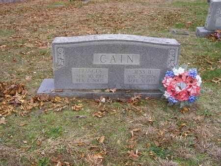 CAIN, JESS B - Hancock County, Kentucky | JESS B CAIN - Kentucky Gravestone Photos