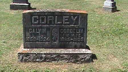 CORLEY, CALVIN - Hancock County, Kentucky   CALVIN CORLEY - Kentucky Gravestone Photos