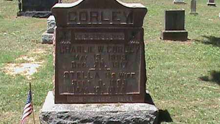 CORLEY (VETERAN WWI), CHARLIE W - Hancock County, Kentucky   CHARLIE W CORLEY (VETERAN WWI) - Kentucky Gravestone Photos