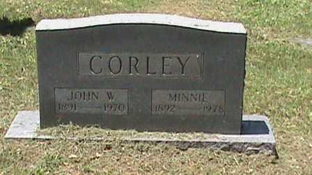 CORLEY, JOHN W - Hancock County, Kentucky | JOHN W CORLEY - Kentucky Gravestone Photos
