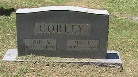 CORLEY, MINNIE - Hancock County, Kentucky | MINNIE CORLEY - Kentucky Gravestone Photos