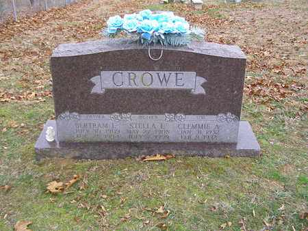CROWE, BERTRAM L - Hancock County, Kentucky | BERTRAM L CROWE - Kentucky Gravestone Photos