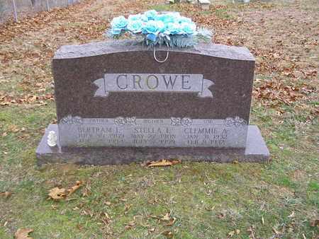 CROWE, CLEMMIE A - Hancock County, Kentucky   CLEMMIE A CROWE - Kentucky Gravestone Photos