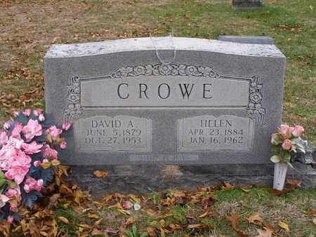 CROWE, DAVID A - Hancock County, Kentucky | DAVID A CROWE - Kentucky Gravestone Photos