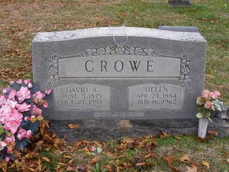 CROWE, DAVID A - Hancock County, Kentucky | DAVID A CROWE - Kentucky Gravestone Photos