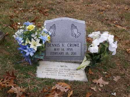 CROWE, DENNIS V - Hancock County, Kentucky | DENNIS V CROWE - Kentucky Gravestone Photos