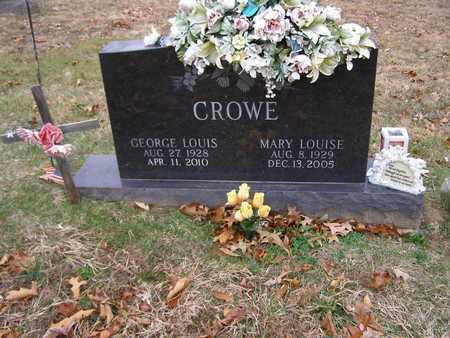 CROWE, MARY LOUISE - Hancock County, Kentucky | MARY LOUISE CROWE - Kentucky Gravestone Photos