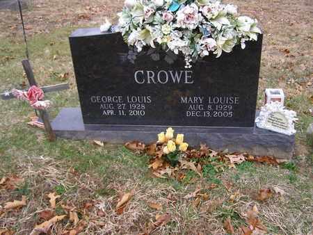 CROWE, MARY LOUISE - Hancock County, Kentucky | MARY LOUISE CROWE - Kentucky Gravestone Photos