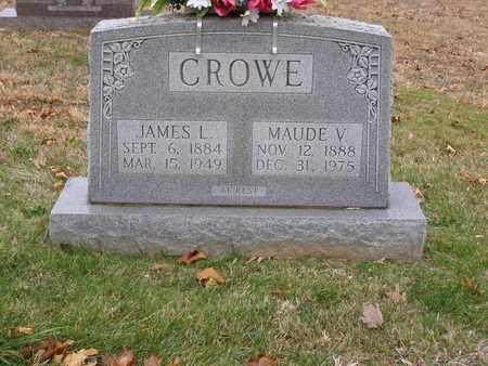 CROWE, MAUDE V - Hancock County, Kentucky   MAUDE V CROWE - Kentucky Gravestone Photos
