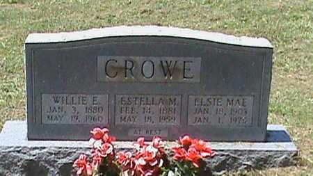 CROWE, WILLIE E - Hancock County, Kentucky | WILLIE E CROWE - Kentucky Gravestone Photos