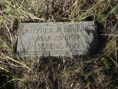 DAVISON, STEPHEN - Hancock County, Kentucky | STEPHEN DAVISON - Kentucky Gravestone Photos