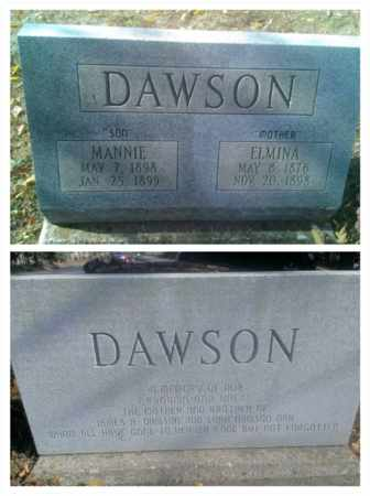 DAWSON, MANNIE - Hancock County, Kentucky | MANNIE DAWSON - Kentucky Gravestone Photos