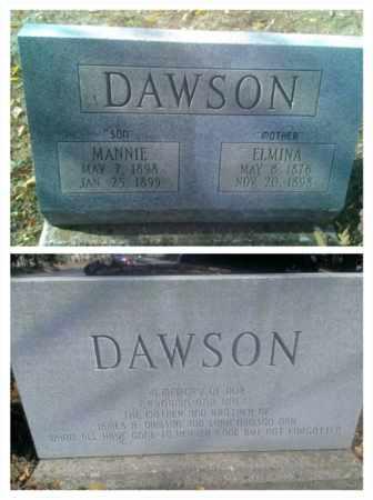 DAWSON, ELMINA - Hancock County, Kentucky | ELMINA DAWSON - Kentucky Gravestone Photos