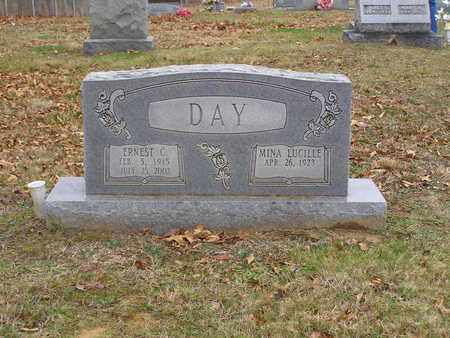 DAY, MINA LUCILLE MCCAMISH - Hancock County, Kentucky | MINA LUCILLE MCCAMISH DAY - Kentucky Gravestone Photos