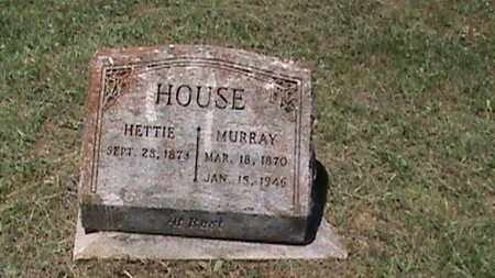 HOUSE, HETTIE - Hancock County, Kentucky | HETTIE HOUSE - Kentucky Gravestone Photos
