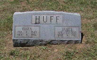 HUFF, ELIZA - Hancock County, Kentucky | ELIZA HUFF - Kentucky Gravestone Photos
