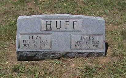 HUFF, ELIZA - Hancock County, Kentucky | ELIZA HUFF - Kentucky Gravestone Photos