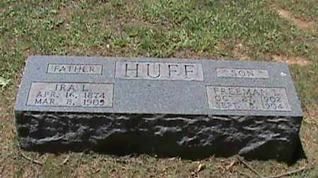 HUFF, IRA L - Hancock County, Kentucky | IRA L HUFF - Kentucky Gravestone Photos