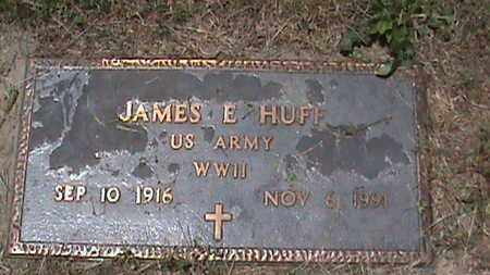 HUFF (VETERAN WW2), JAMES E - Hancock County, Kentucky | JAMES E HUFF (VETERAN WW2) - Kentucky Gravestone Photos