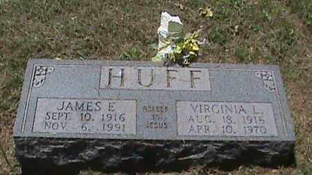 HUFF, JAMES E - Hancock County, Kentucky | JAMES E HUFF - Kentucky Gravestone Photos
