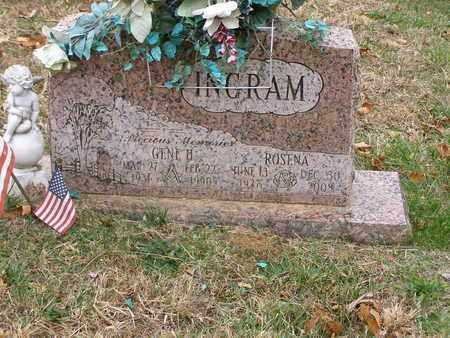 INGRAM, ROSENA - Hancock County, Kentucky   ROSENA INGRAM - Kentucky Gravestone Photos