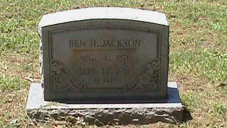 JACKSON, BEN H - Hancock County, Kentucky | BEN H JACKSON - Kentucky Gravestone Photos