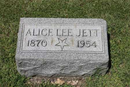 JETT, ALICE LEE - Hancock County, Kentucky | ALICE LEE JETT - Kentucky Gravestone Photos