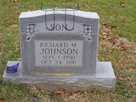 JOHNSON, RICHARD M - Hancock County, Kentucky | RICHARD M JOHNSON - Kentucky Gravestone Photos