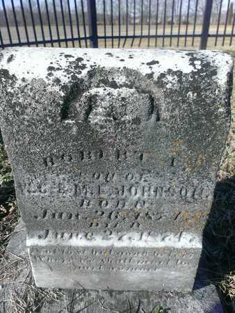 JOHNSON, ROBERT - Hancock County, Kentucky | ROBERT JOHNSON - Kentucky Gravestone Photos
