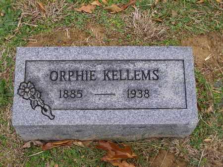 KELLEMS, ORPHIE - Hancock County, Kentucky   ORPHIE KELLEMS - Kentucky Gravestone Photos