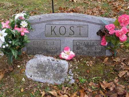 KOST, ETHEL J - Hancock County, Kentucky | ETHEL J KOST - Kentucky Gravestone Photos