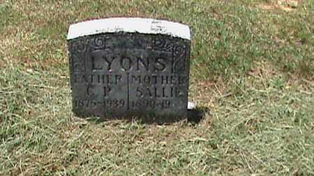 LYONS, SALLIE - Hancock County, Kentucky | SALLIE LYONS - Kentucky Gravestone Photos