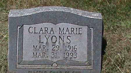 LYONS, CLARA MARIE - Hancock County, Kentucky | CLARA MARIE LYONS - Kentucky Gravestone Photos