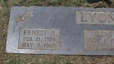 LYONS, ERNEST A - Hancock County, Kentucky   ERNEST A LYONS - Kentucky Gravestone Photos